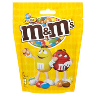 M & M Chocolate Peanut Pouch - 165g - Pack of 4 (165g x 4)
