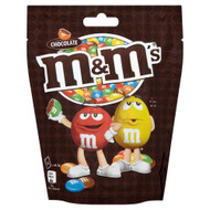 M & M Chocolate Pouch - 165g - Pack of 4 (165g x 4)