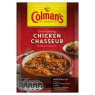 Colman's Chicken Chasseur Mix - 43g - Pack of 8 (43g x 8)