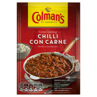 Colman's Chilli Con Carne Mix - 50g - Pack of 8 (50g x 8)