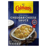 Colman's Cheddar Cheese Sauce Mix - 40g - Pack of 4 (40g x 4)