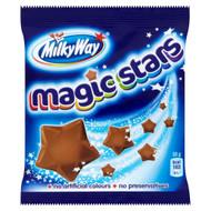 Milky Way Magic Stars - 33g - Pack of 12 (33g x 12 Bags)