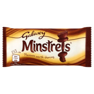 Minstrels Bag - 42g - Pack of 12 (42g x 12 Bags)