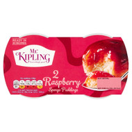 Mr Kipling Sponge Pudding Raspberry - Pack of 2