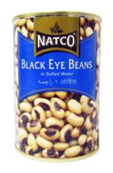 Natco - Black Eye Beans - 400g (pack of 4)