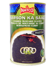 Natco - Sarson Ka Saag - 450g (pack of 4)