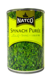 Natco - Spinach Puree - 395g (pack of 4)