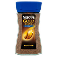 Nescafe Gold Blend Decaffinated Instant Coffee - 100g - Pack of 2 (100g x 2)