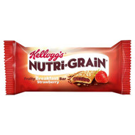 Nutri-Grain Strawberry Cereal Bar - 37g - Pack of 6 (37g x 6)