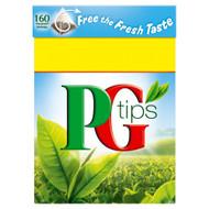 PG Tips Tea Bags - 160's - Pack of 2 (160's x 2)