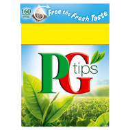 PG Tips Tea Bags - 160's - Pack of 3 (160's x 3)
