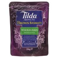 Tilda Steamed Basmati Brown Rice -6 x 250g