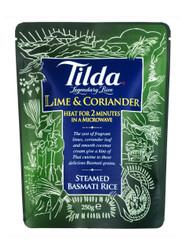 Tilda Steamed Basmati Lime and Coriander Rice - 250g (Pack of 6)