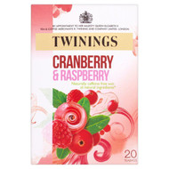 Twinings Cranberry & Raspberry Tea - 20s - Pack of 4 (20s x 4)