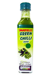Weikfield - Green Chilli Sauce - 265g (Pack of 2)