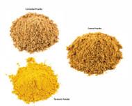 Jalpur Millers Spice Combo Pack - Turmeric Powder 100g - Cumin Powder 100g - Coriander Powder 100g (3 Pack)
