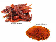 Jalpur Millers Spice Combo Pack - Kashmiri Chill Powder 100g - Dried Kashmiri Chillies 50g (2 Pack)