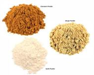 Jalpur Millers Spice Combo Pack - Garlic Powder 100g - Cinnamon Powder 100g - Ginger Powder 100g (3 Pack)