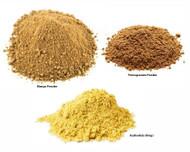 Jalpur Millers Spice Combo Pack - Dry Pomegranate Powder 100g - Dry Mango Powder 100g -Asafoetida 50g (3 Pack)