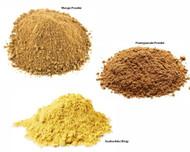 Jalpur Millers Spice Combo Pack - Pomegranate Powder 100g - Dry Mango Powder 100g - Asafoetida 100g (3 Pack)