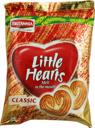 Britannia - Little Hearts Biscuits - 75g (Pack of 5)