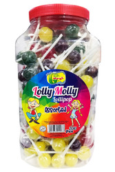 Lolly Molly - Assorted Lollypops - 200pcs