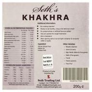 Seth's - Khakhara Authentic Crispy Snack - Plain Flavour - 200g