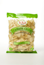 Taj Brand - Cassava Chips - Unsalted Flavour - 250g (Pack of 2)