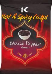 Kolak - Black Pepper Crisps - 25g (Pack of 10)