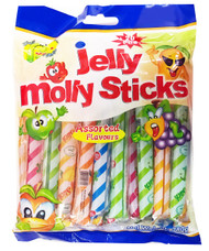 Jelly Molly - Jelly Sticks (Assorted Flavours) - 340g (20pcs) (Pack of 2)