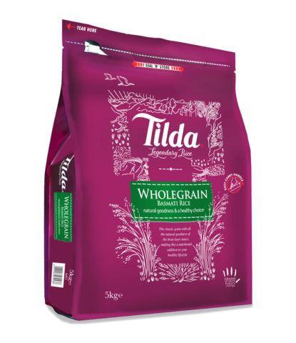 Tilda - Wholegrain Basmati Rice - 5kg