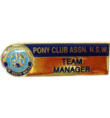 Team Manager Badge