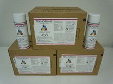 HP LASERJET 4200 4250 4300 4350 PRINTER PAINT WHITE #42XX (1 CASE) 12 SPRAY CANS