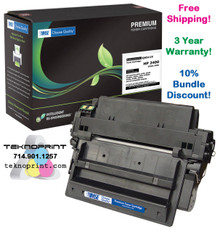 HP LaserJet 2400, 2420, 2430, 11X Series High Yield Toner (Yield: 12,000)