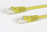 Cat 6 Yellow UTP Patch Lead 250MHz
