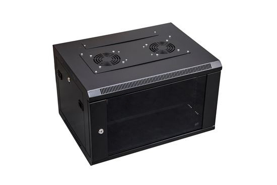6RU Wall Mount Server Rack Cabinet front