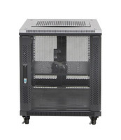 12RU network server rack cabinet 700mm deep - front