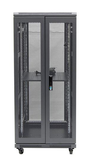 27RU network server rack cabinet 1000mm deep - rear