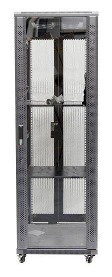 37RU network server rack cabinet 800mm deep - front
