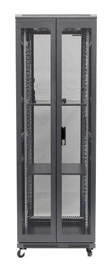 37RU network server rack cabinet 800mm deep - rear