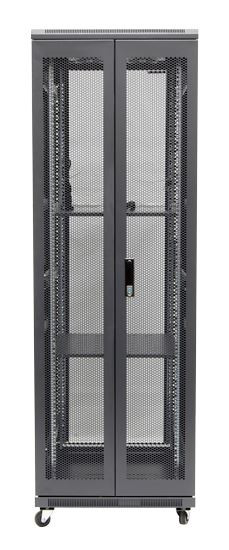 37RU network server rack cabinet 1000mm deep - rear