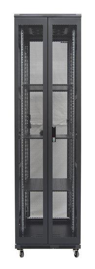 45RU network server rack cabinet 600mm deep - rear