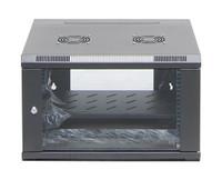 4RU Wall Mount Server Rack Cabinet Hinged