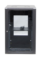 18RU Server Rack Cabinet 600mm Deep Swing Frame