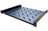 "1RU 19"" Cantilever Shelf, 400mm Deep"