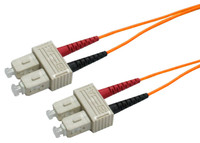 OM1 SC-SC Fibre Patch Lead 62.5u