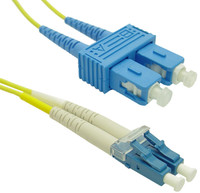 OS1 LC-SC Fibre Patch Lead 9u