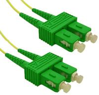 OS1 SC APC/SC APC Fibre Patch Lead 9u