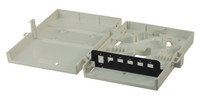 Fibre Wall Enclosure 6 Port LC Duplex / SC Simplex Unloaded