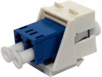 LC Duplex Singlemode Keystone Face Plate Adapter